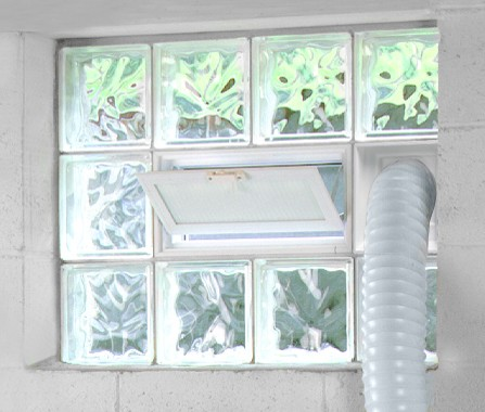 Glass block windows dayton glass block Plastic glass block windows