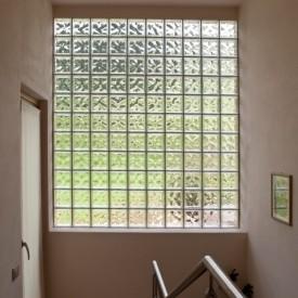 Glass Block Entryway