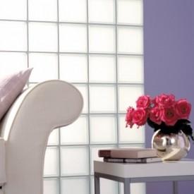 Glass Block Living Room