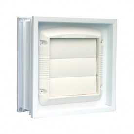 Dryer Style Power Vent Exterior View