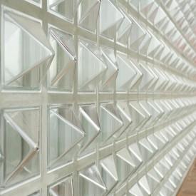 Unique Glass Block Wall