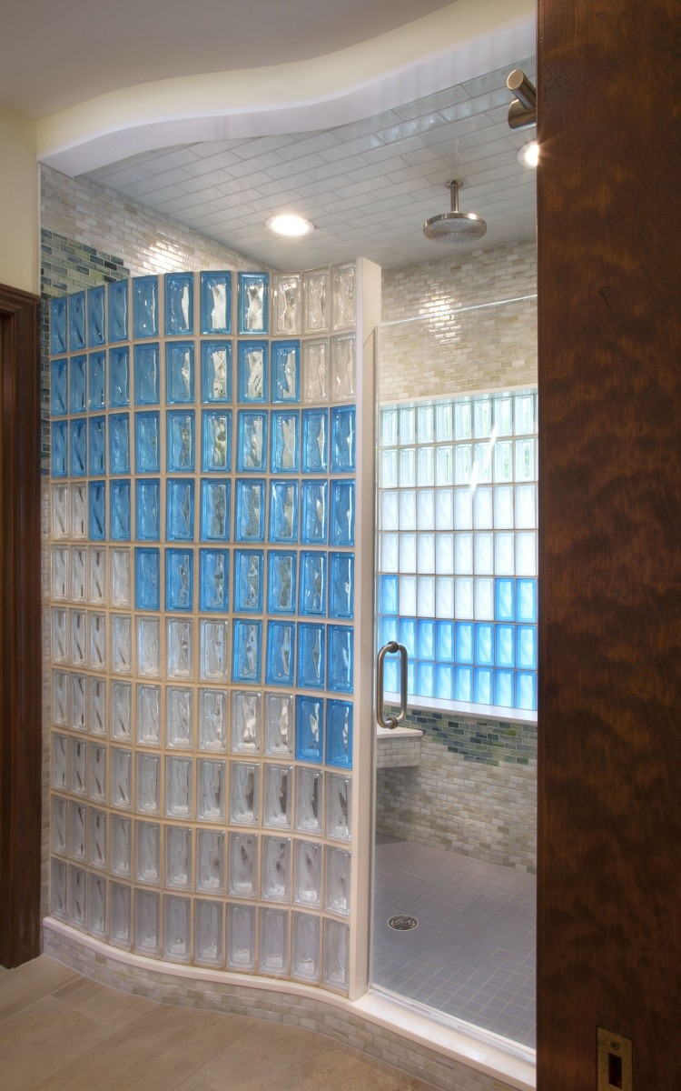 Walls and Showers | Dayton Glass Block